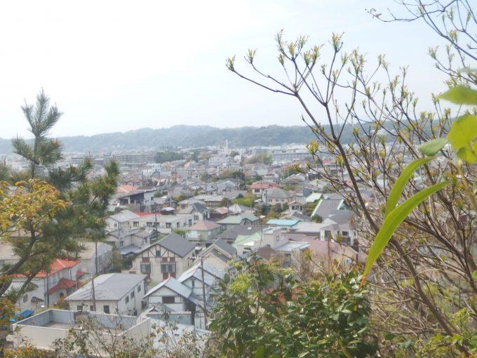 安国論寺 富士見台より