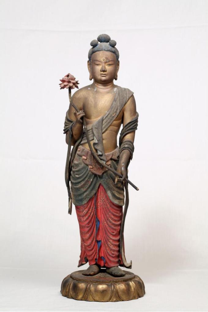 文殊菩薩立像(阿弥陀寺)
