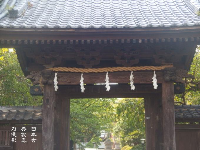 長勝寺 山門