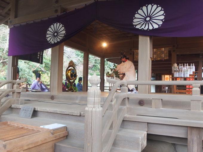 鎌倉宮 御神楽始式 神楽