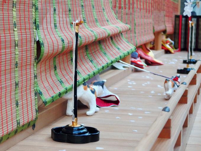 源氏物語 若菜上 猫 平安宮廷スポーツスタジアム/令和の初春梅花の宴・御大礼の儀式と装束