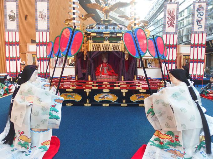 東山天皇の即位式 平安宮廷スポーツスタジアム/令和の初春梅花の宴・御大礼の儀式と装束