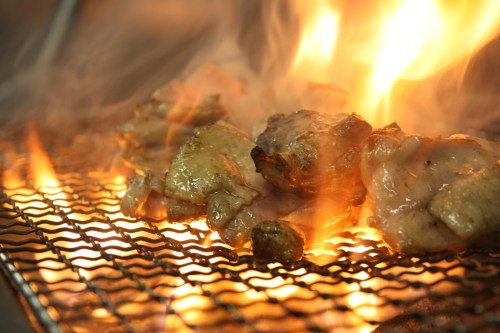 Mitsuse chicken smoke grilled