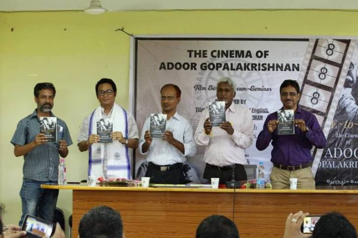 Parthajit Baruah's book being launched