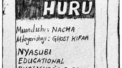 NACHA - DARASA HURU (Spoken Word Poetry) Lyrics