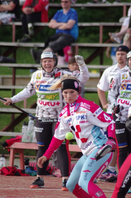Lukkari Senni Sallinen voitti yleisön ykköspelaaja -äänestyksen.