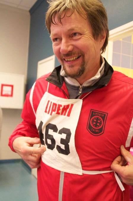 Seppo Nissinen kunnostautui Yrittäjä-Olympialaisissa.