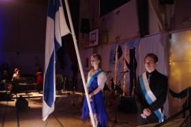 Heidi ja Valtteri olivat airueena.