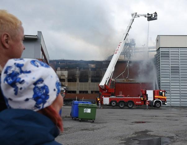 Kesäkuun 5. päivänä alkanut tulipalo tuhosi Liperin Myllyn.