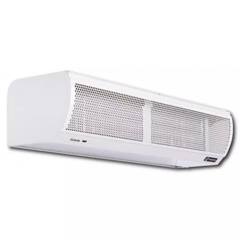 water heated air curtain aeris xxxwn 1p