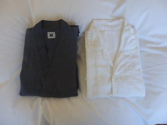 作務衣とパジャマ
