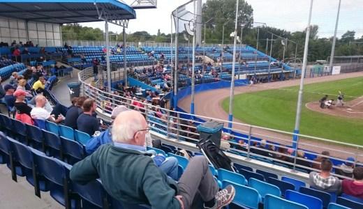 オランダで野球観戦 キンヘイム×ネプチューンズ@ハーレム 2015年9月19日