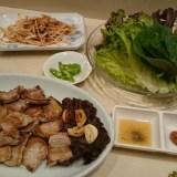 ムグンファ 浅草の韓国料理店のチヂミとサムギョプサルとスンドゥブチゲ