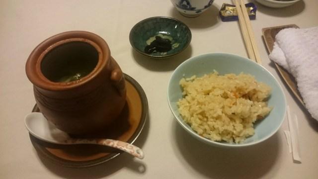 鳥骨鶏のスープ