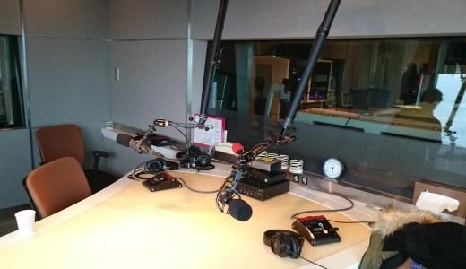 J-WAVEの「TOKYO MORNING RADIO」というラジオ番組に出演いたしました