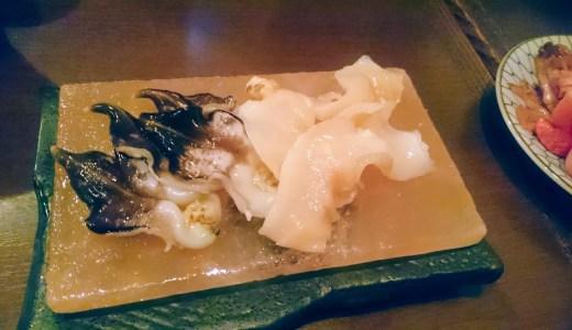 潮音。秋葉原にこんな新鮮な魚貝が食べられるお店があるなんて!