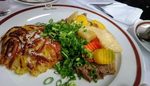 カフェザッハーでターフェルシュピッツを食べ野球観戦をした日 プラハ・ブルノ・ウィーン旅