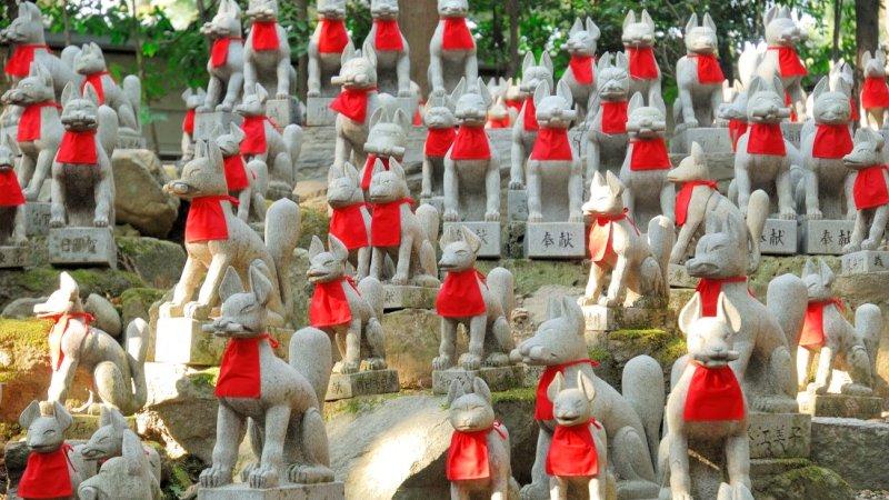 Divindade ou aberração? A raposa e o símbolismo dos japoneses