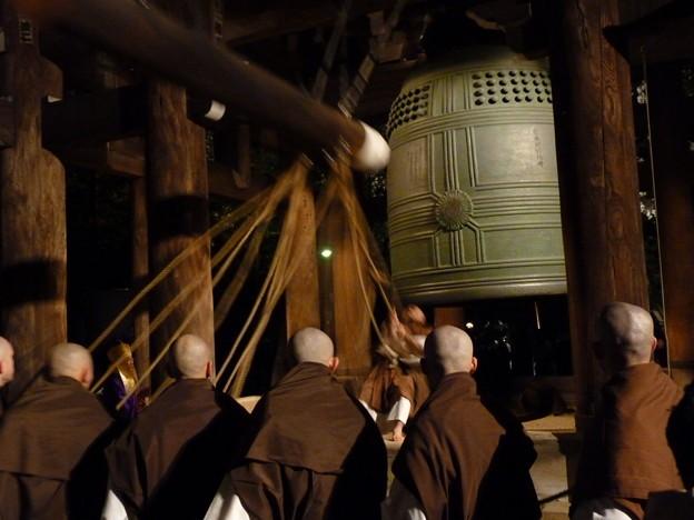 joya no kane japonesa típica do ano novo no japão, shogatsu