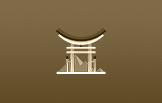 torii portão dourado