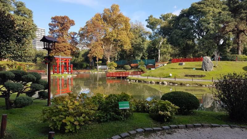 A beleza inconfundível do Jardim Japonês em Buenos Aires
