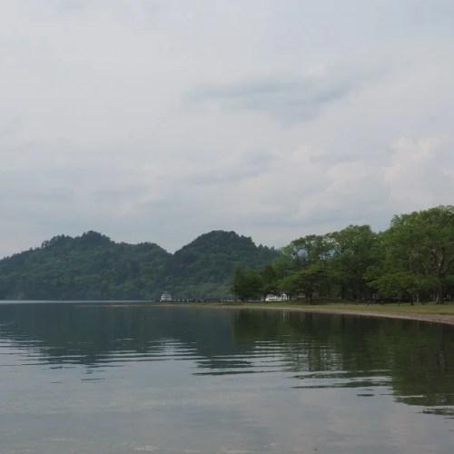 十和田湖の五月の写真