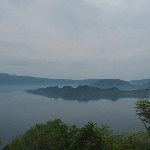 発荷峠からの風景写真