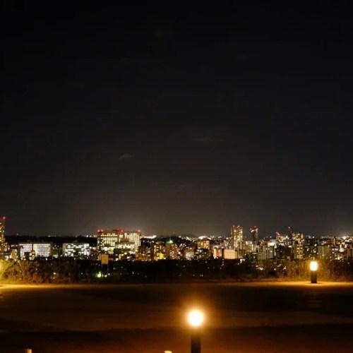 青葉城址公園の夜景