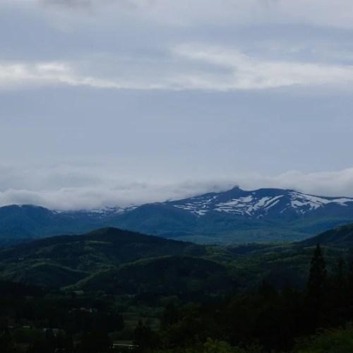 栗駒山の春の写真