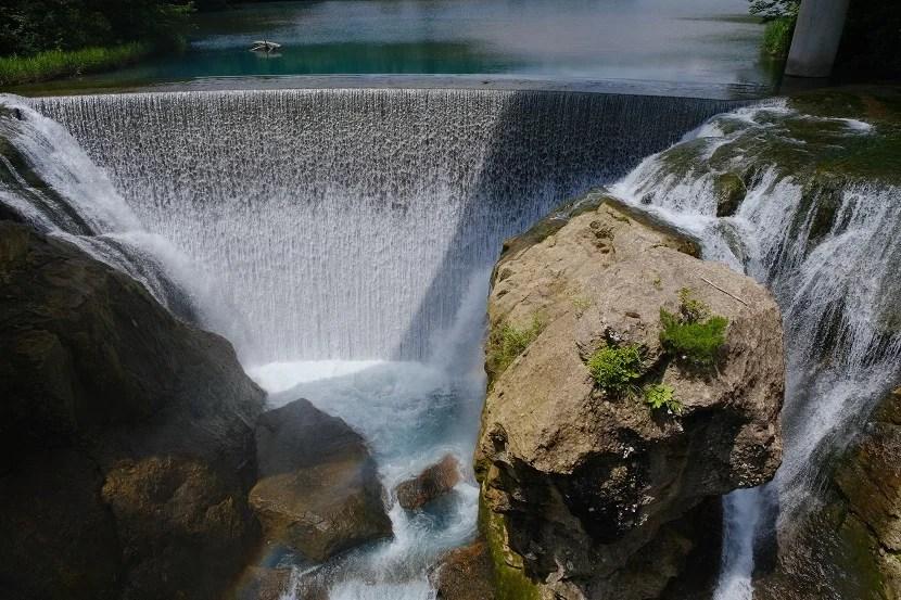 矢櫃ダムの夏の風景写真