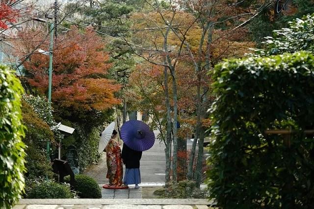 鎌倉海蔵寺にて