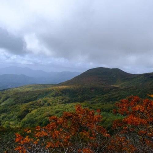 栗駒山の紅葉の写真