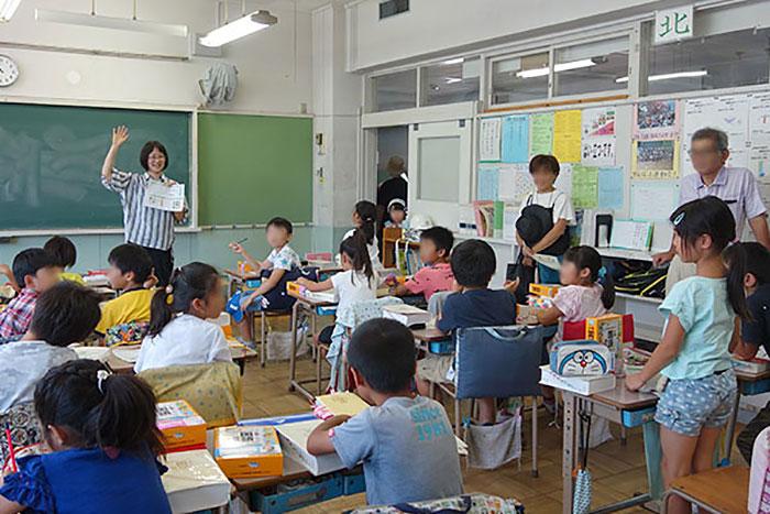 出前授業_立川第三小学校