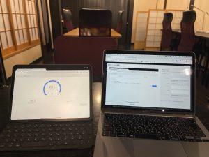 コワーキングスペースのWi-Fi通信速度