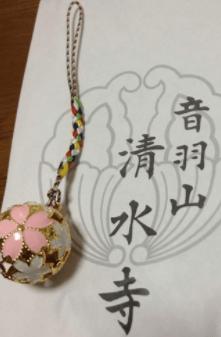 桜鈴清水寺