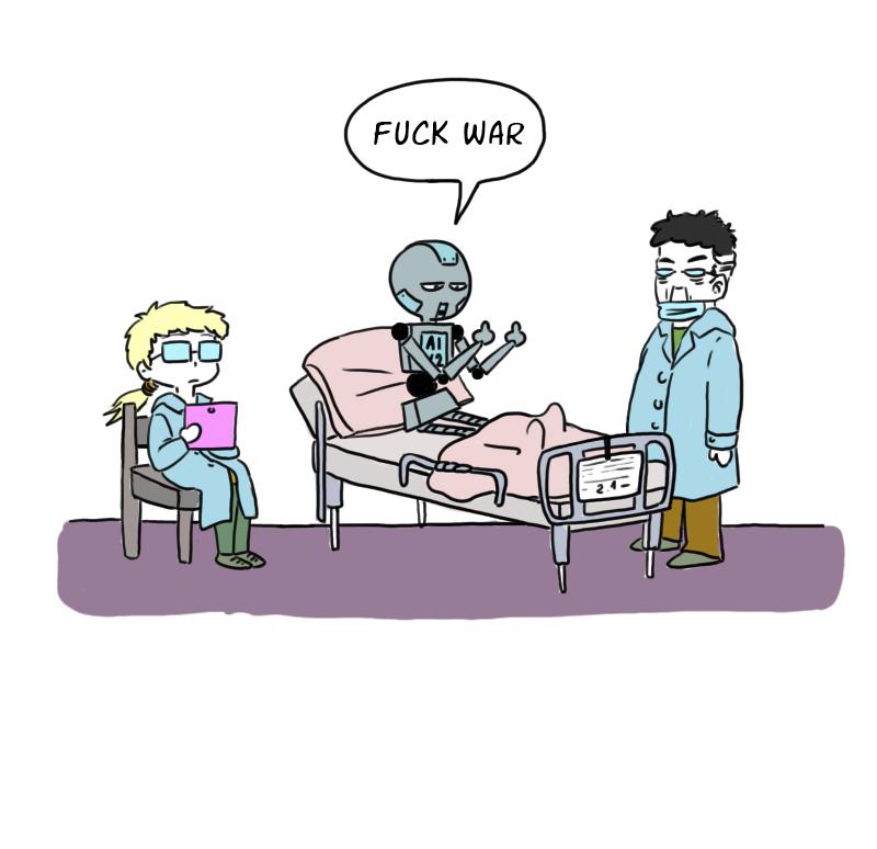 webcomics about artificial intelligence robot ai