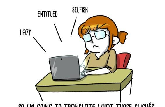 Millennials clichés