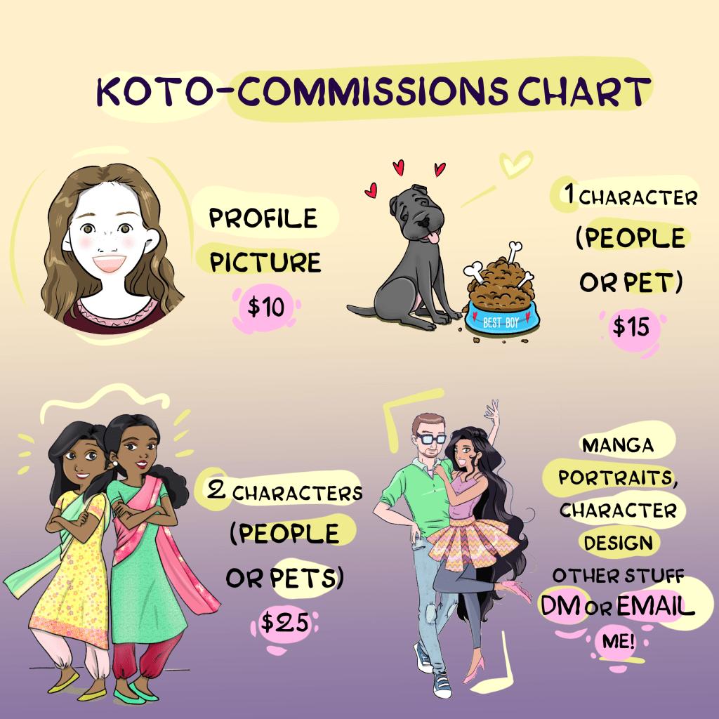 kotopopi commissions prices freelance job work