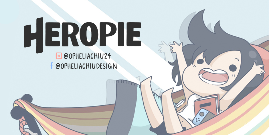 kotopopi and heropie ophelia chiu comic webcomics collab dogs aliens park