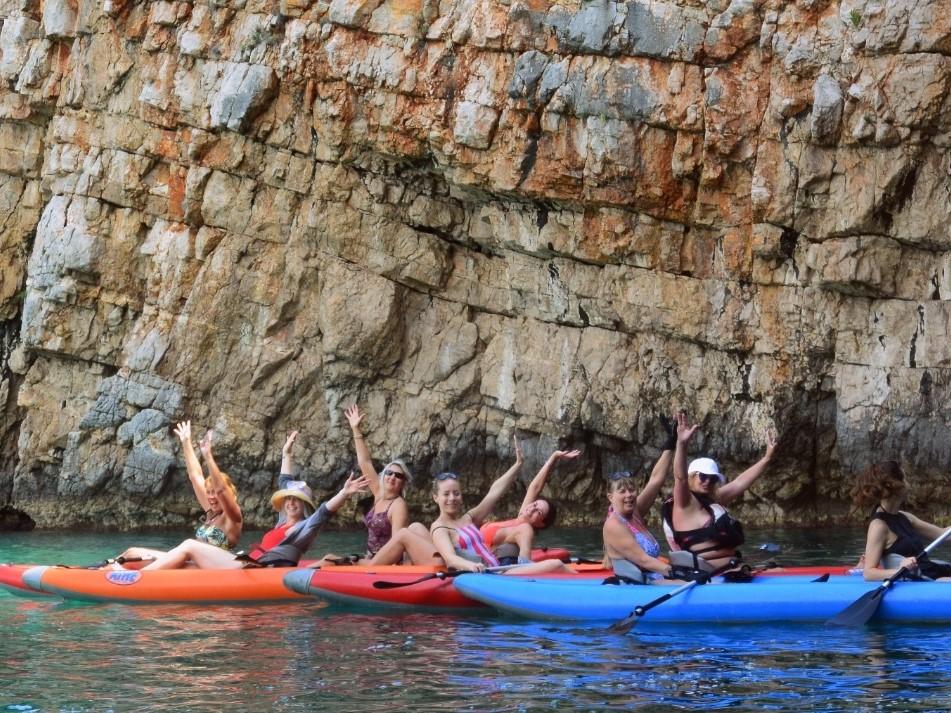 see and do kayaking kotor montenegro