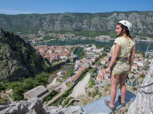 via ferrata kotor climbing montenegro