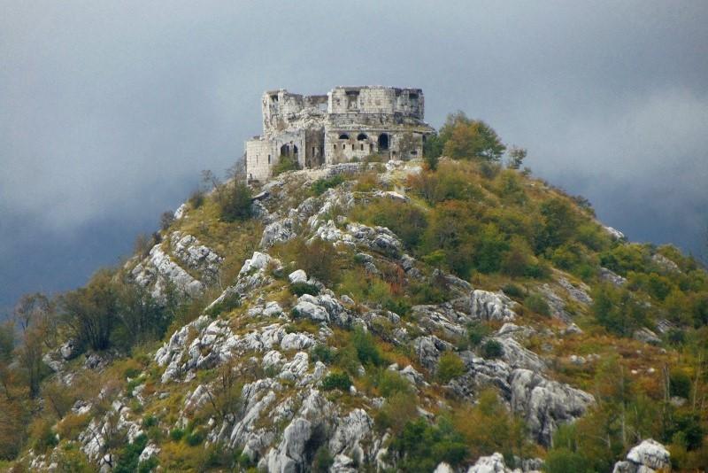 fortificatioons kotor fort-net hiking trekking trails