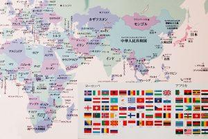 世界地図 おしゃれ