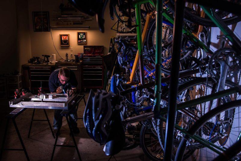 Vuokratila tai verstas pyörähuollolle