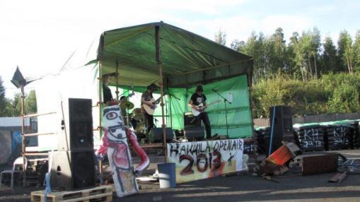 Hakkila open air esiintyjät 2013