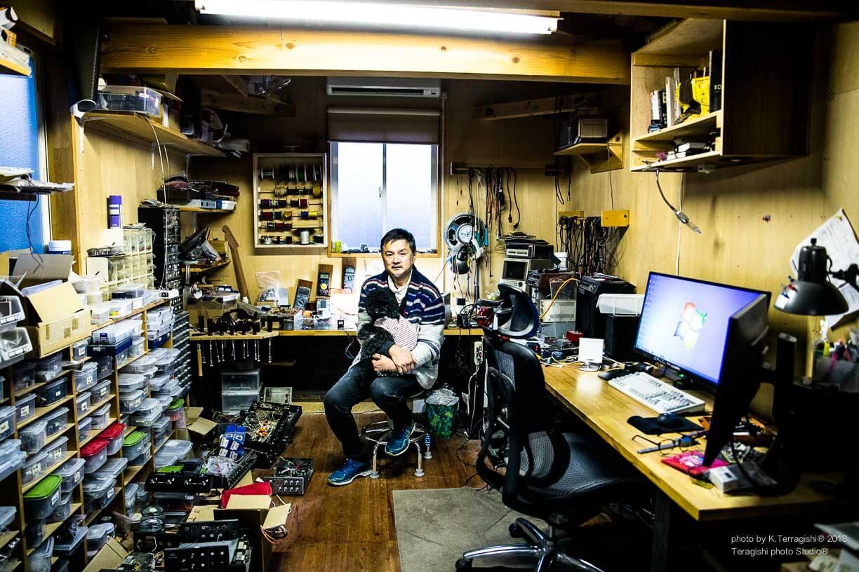 JAZZ&オーディオを訪ねて!# 10 一関 真柴『AKG 工房 AMP BUILDER!!』