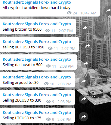 all crypto signals sell