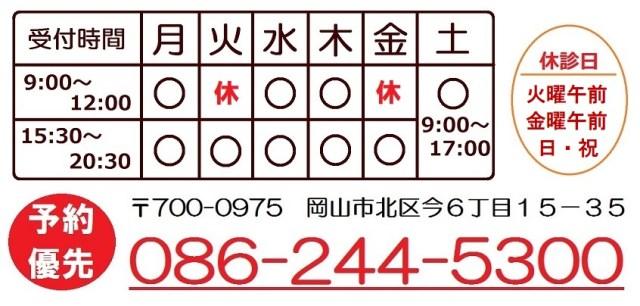 受付時間及び電話番号