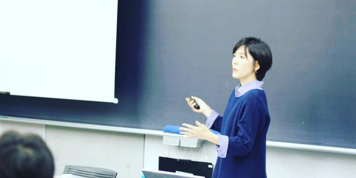 不妊、流死産の体験者として「命を考える」講演@成城大学