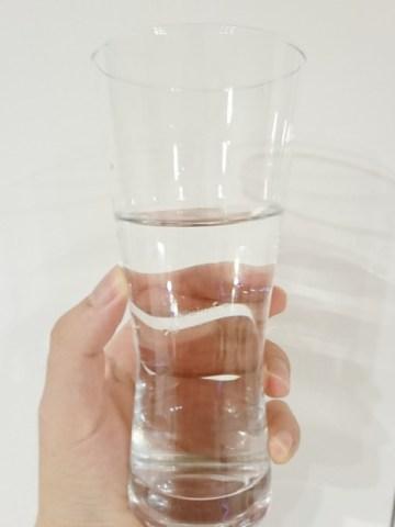 コスモス:天然水を飲んでみる